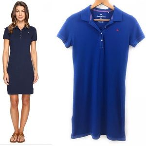 Tommy Bahama Womens Royal Blue Polo Dress, S